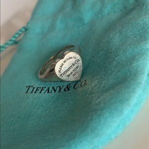 Tiffany & Co. Signet Heart Ring